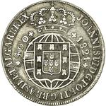 Portugal, Kingdom of / Four Hundred Reis 1821 - obverse photo