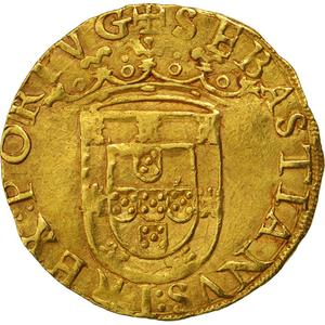 Portugal, Kingdom of / Cruzado of King Sebastião I - obverse photo