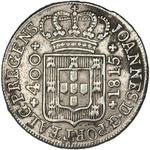 Portugal, Kingdom of / Four Hundred Reis 1815 - obverse photo