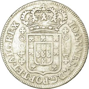 Portugal, Kingdom of / Four Hundred Reis 1750 - obverse photo