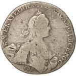 Russia, Empire of / One Rouble 1769 - obverse photo