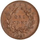 Sarawak / One Cent 1889 - reverse photo