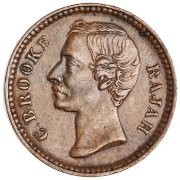 Quarter Cent 1870: Photo Bronze 1/4 cent, Birmingham, 1870