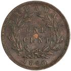 One Cent 1890: Photo Bronze cent, Birmingham, 1890