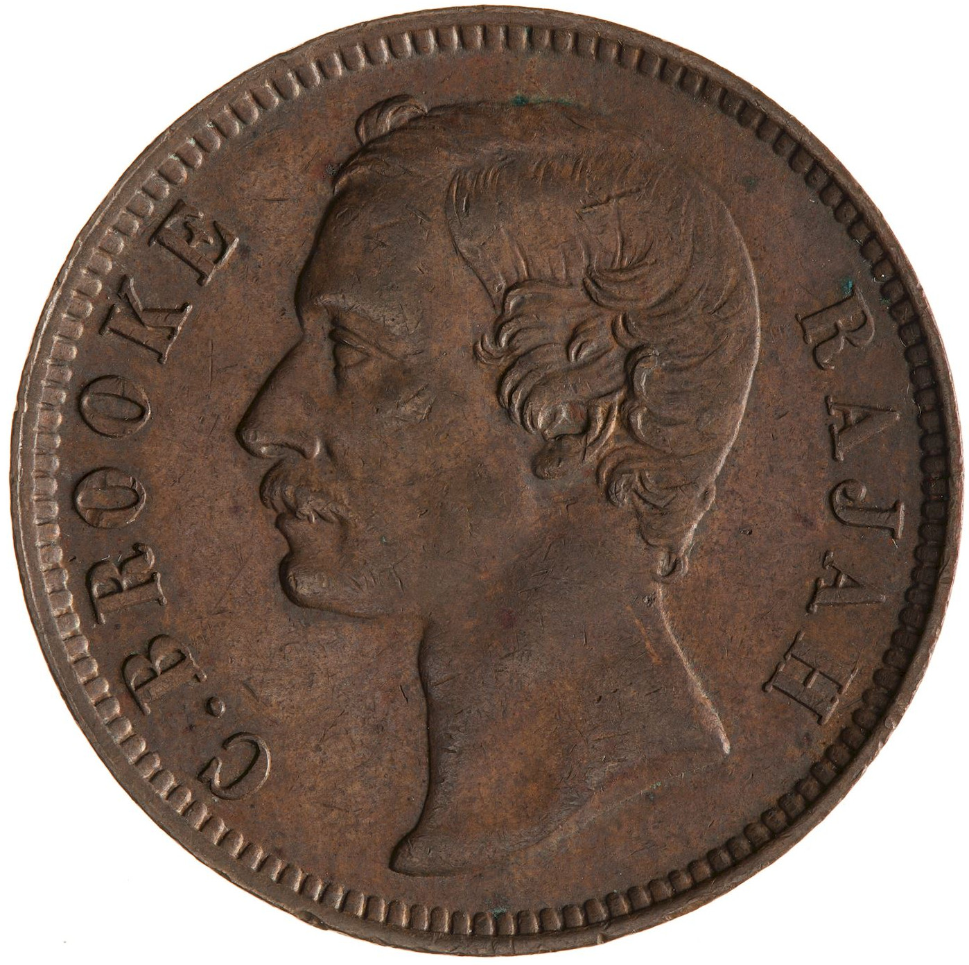 One Cent 1888: Photo Coin - 1 Cent, Sarawak, 1888