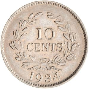 Sarawak / Ten Cents - reverse photo