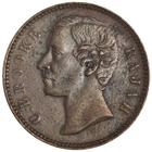 Half Cent 1896: Photo Copper 1/2 cent, Heaton, 1896