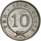 Ten Cents 1913: Photo Sarawak 1913-H 10 cents