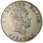 Fifty Cents 1927: Photo Sarawak 1927-H 50 cents