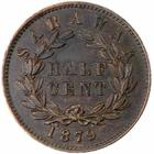 Half Cent 1879: Photo Sarawak 1879 1/2 cent