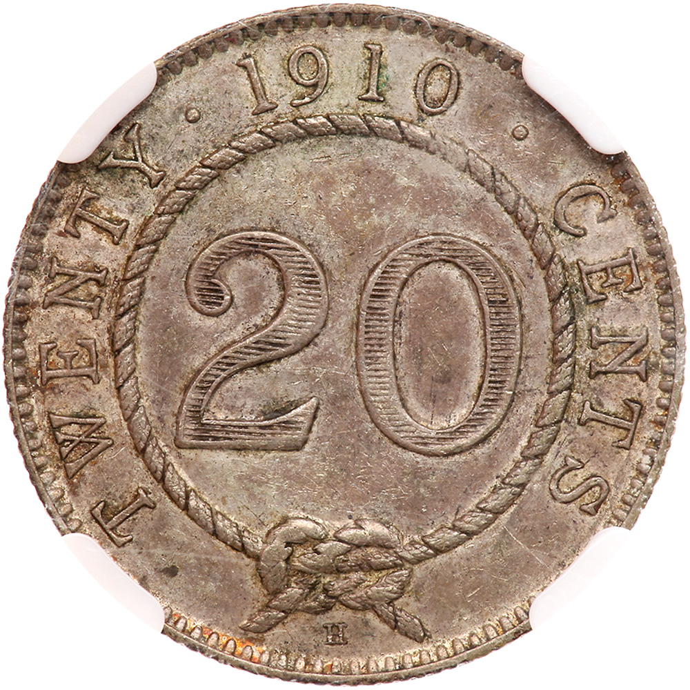 Twenty Cents: Photo Sarawak 1910-H 20 cents
