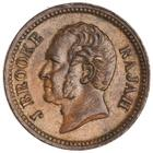 Quarter Cent 1863: Photo Bronze 1/4 cent, SE Asia, 1863