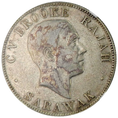 Fifty Cents: Photo Sarawak 1927-H 50 cents