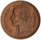 Sarawak / Quarter Cent 1870 - obverse photo