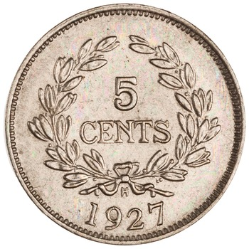 Five Cents 1927: Photo Cn 5 cent, Birmingham, 1927