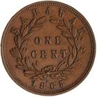 One Cent 1863: Photo Coin - 1 Cent, Sarawak, 1863