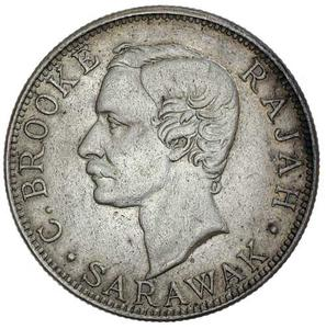 Sarawak / Fifty Cents 1906 - obverse photo