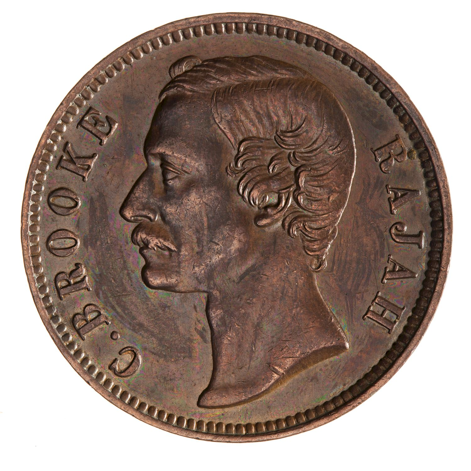 One Cent 1889: Photo Coin - 1 Cent, Sarawak, 1889