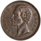 One Cent 1884: Photo Bronze cent, Birmingham, 1884