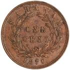 One Cent 1870: Photo Bronze cent, Birmingham, 1870