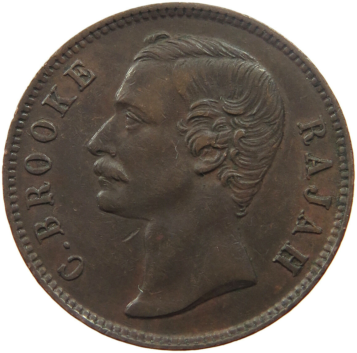 One Cent 1890: Photo Sarawak One Cent 1890