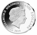 Solomon Islands / Silver Ounce 2019 Mick Jagger - obverse photo