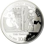 Solomon Islands / One Ounce Silver 2014 The Timepiece - reverse photo