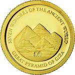 Solomon Islands / Five Dollars Gold 2011 Great Pyramid - obverse photo