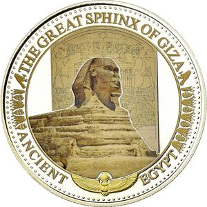 Solomon Islands / Two Dollars Silver 2015 Sphinx - obverse photo