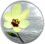 South Africa / Silver Ounce 2017 Yellow Wine Cup - reverse photo