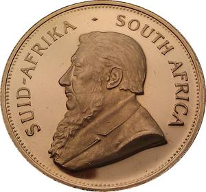 South Africa / Gold Ounce 1993 Krugerrand - obverse photo