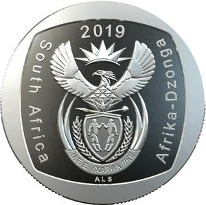 South Africa / Two Rand 2019 Freedom of Movement and Residence - obverse photo
