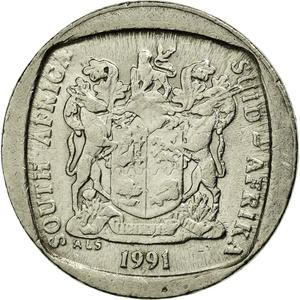 South Africa / One Rand 1991 - obverse photo
