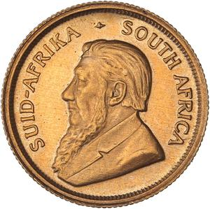 South Africa / Gold Tenth-Ounce 1995 Krugerrand - obverse photo