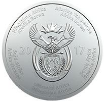 South Africa / Silver Ounce 2017 OR Tambo Centenary - obverse photo