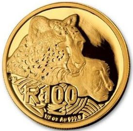 South Africa / Gold Half Ounce 2016 Cheetah - reverse photo