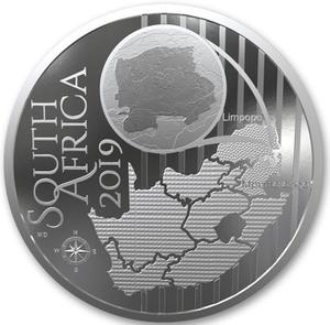 South Africa / Silver Ounce 2019 Impala Lily - obverse photo