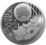 South Africa / Silver Ounce 2019 Turaco - obverse photo