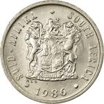 South Africa / Five Cents 1986 - obverse photo