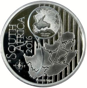 South Africa / Silver Ounce 2016 Disa - obverse photo