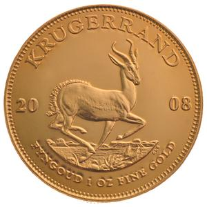 South Africa / Gold Ounce 2008 Krugerrand - reverse photo
