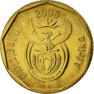 South Africa / Ten Cents 2008 - obverse photo