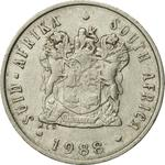 South Africa / Five Cents 1988 - obverse photo
