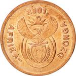 South Africa / Five Cents 2001 - obverse photo