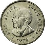 South Africa / Five Cents 1979 Diederichs - obverse photo
