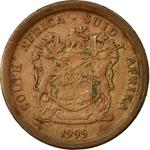 South Africa / Five Cents 1995 - obverse photo