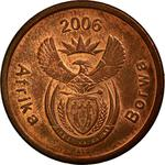 South Africa / Five Cents 2006 - obverse photo