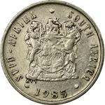 South Africa / Five Cents 1985 - obverse photo