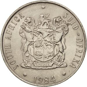 South Africa / Fifty Cents 1984 - obverse photo