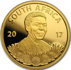 South Africa / Gold Tenth-Ounce 2017 Mandela - Freedom Struggle - obverse photo